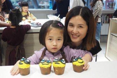 Minions Cupcake 親子烹飪班