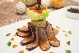 Pan-fried Duck Breast & Confit Duck Leg Raviolini