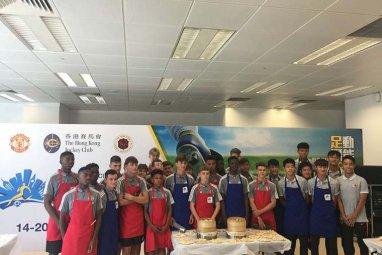 香港新東方助力「賽馬會青少年足球精英匯」活動,傳授中國傳統技藝