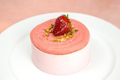 Beetroot Pepper Mousse Cake