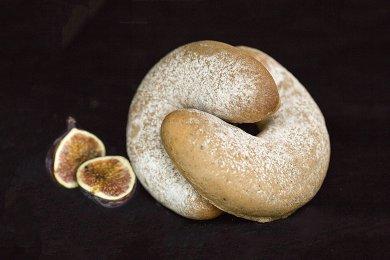 無花果烏龍茶麵包 (4個)