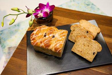 玉桂提子麵包卷 (4個)