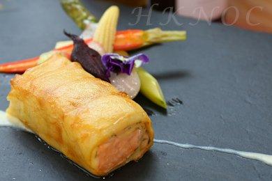 香脆薯片卷魚柳