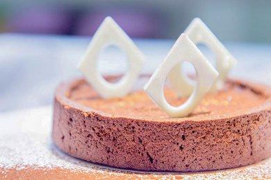 Chocolate Almond Tartlet
