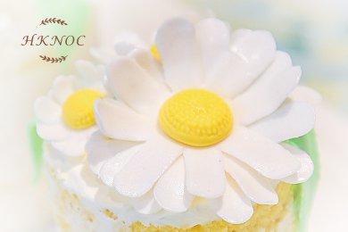太陽花檸檬迷你裸蛋糕 (2.5吋2個)