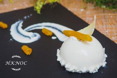 椰子菠蘿圓頂蛋糕配菠蘿卷(4個)