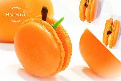 柑橘馬卡龍 (10個 )
