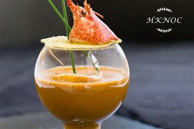Lobster Bisque with Cognac Cream