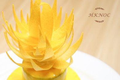 朱古力熱情果慕絲蛋糕(4.5吋)