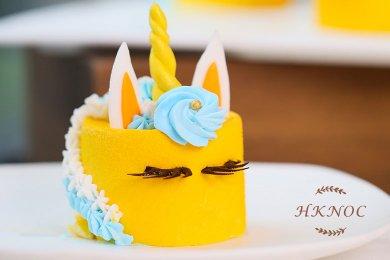 Mango Outflow Cake