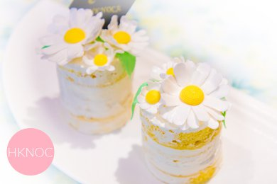 Daisy Lemon Mini Naked Cakes