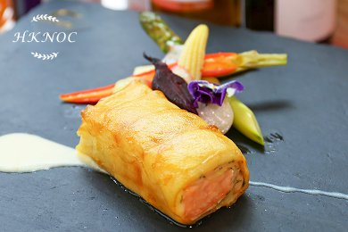 香煎薯片卷魚柳