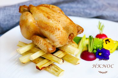 Smoked Marinated Spring Chicken