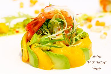 Prawn Avocado Mango Salad