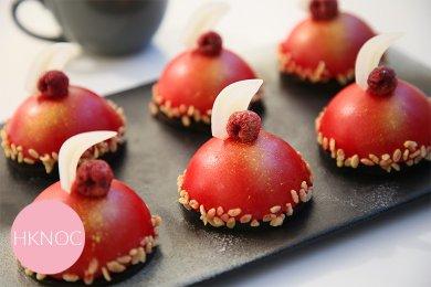 蔓越莓巧克力脆脆蛋糕  (4 件)