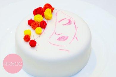 紅桑子柚子蜜慕絲蛋糕 (4.5吋)