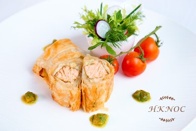 焗香酥魚柳卷
