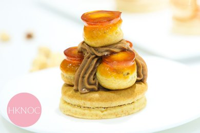 榛子巧克力聖安娜泡芙 ( 4個 )