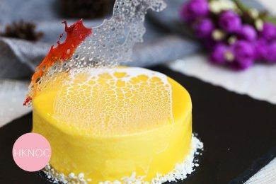 芒果桂花慕斯蛋糕