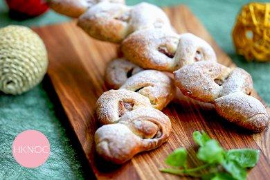 羅勒煙肉麥穗麵包(2個 中型)