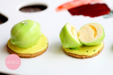 Frutto della Passione e Lime Torta