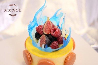 檸檬雪芳蛋糕 (1個)