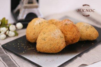 香草蘑菇雞麵包(4個)