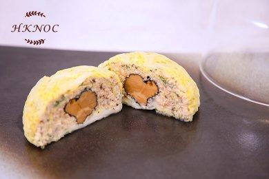 黑松露燴蘑菇釀椰菜包