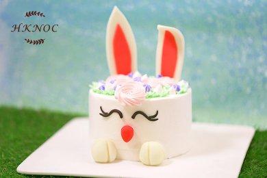 復活節兔子造型蛋糕(1個)